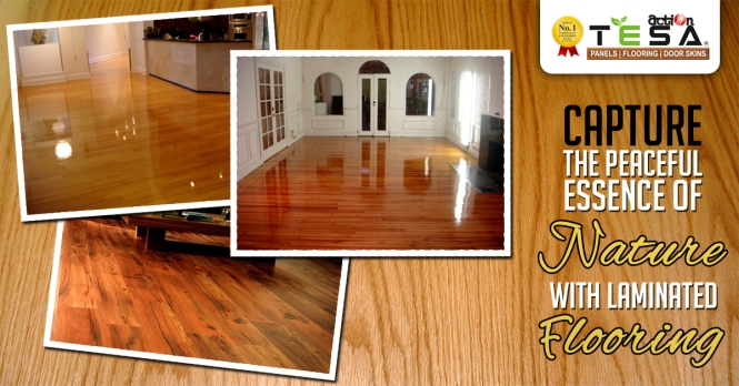 Capture the Peaceful Essence of Nature with Laminated Flooring