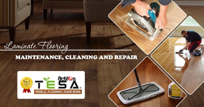 Laminate Flooring Maintenance, Cleaning and Repair